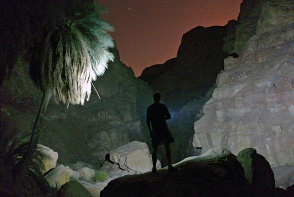 Ночной каньон, Иордания