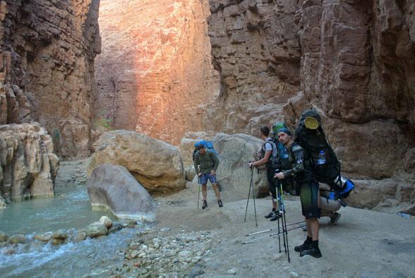 Каньонинг в Иордании