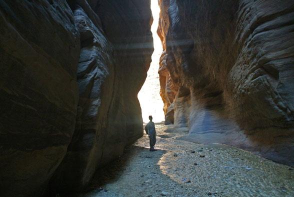Каньон Вади Нумейра, Иордания
