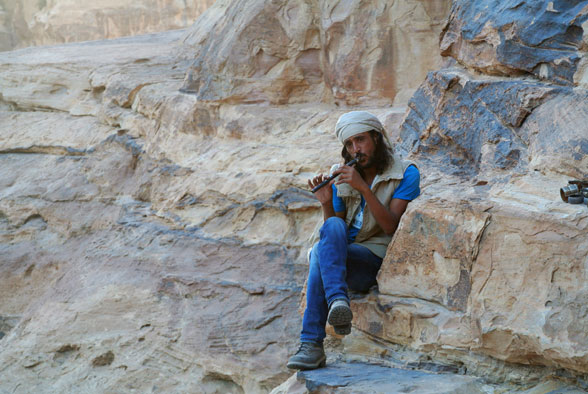 Джинн-бедуин Отка-Отка, Малая Петра, Иордания