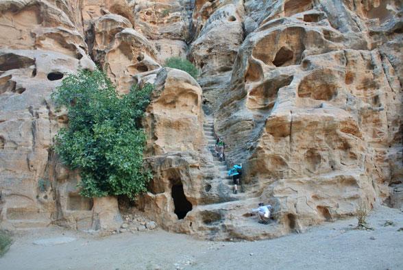 Древние набатейские постройки, Малая Петра, Иордания