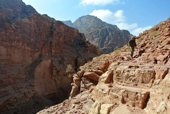 Опасная тропа. Каньонинг в Иордании