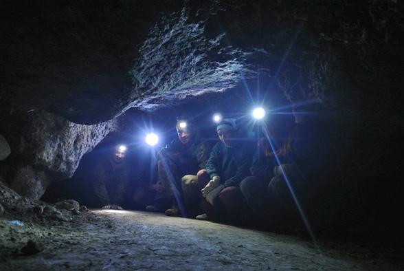Экскурсия в пещеру