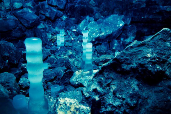 Гурьевская пещера зимой