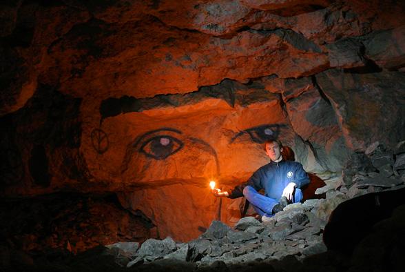 Практики в пещере