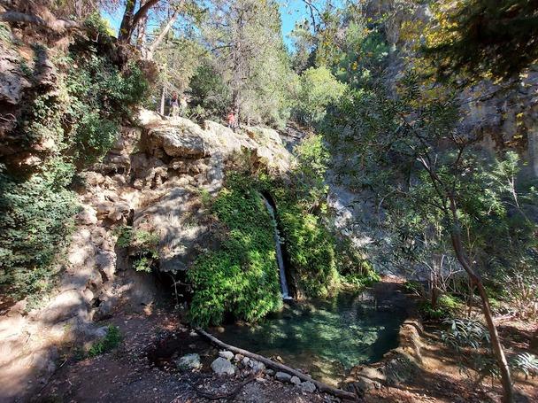 Запад Ликийской тропы. Водопад в каньоне Деликкайя