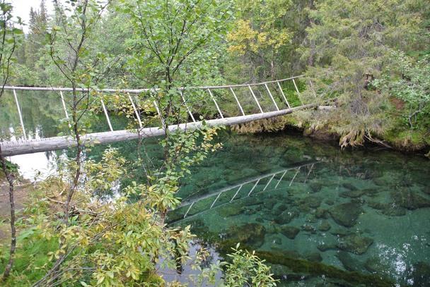 Мост Потрясный  на Сейдозере