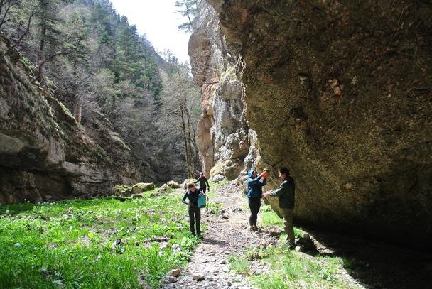Притоки, как и основной каньон Цица, поражают своей красотой
