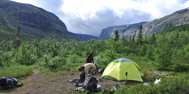Ущелье Чинглусуай в Ловозерских тундрах