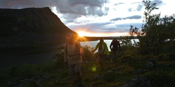 Поход к озеру Светлое в Ловозерах
