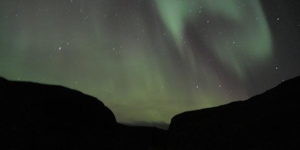 В Ловозерах полярное сияние не редкость и в конце августа